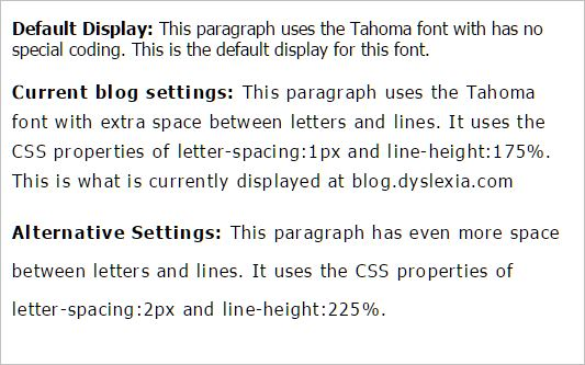 Good Fonts for Dyslexia - An Experimental Study | Dyslexia the Gift Blog