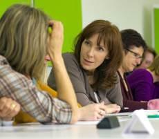 group attending workshop