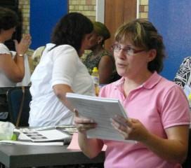 Student at Workshop
