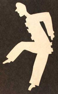 Paper cut figure