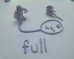 clay model of full